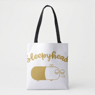 [GOLD] Sleepyhead Tote Bag