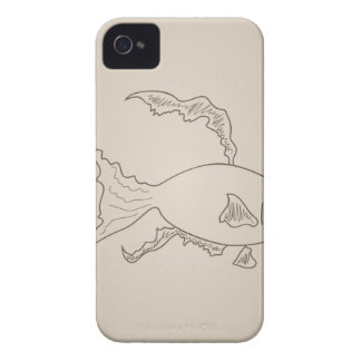 Gold small fish iPhone 4 cases