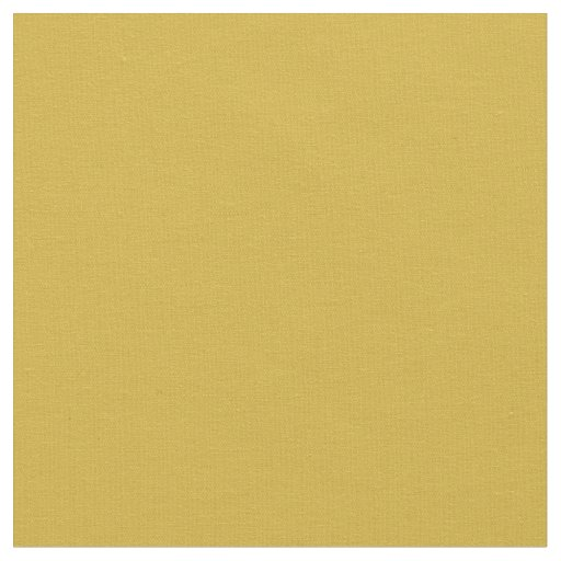 Gold Solid Colour Fabric