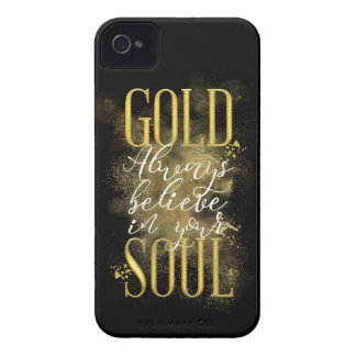 Gold Soul Case-Mate iPhone 4 Cases