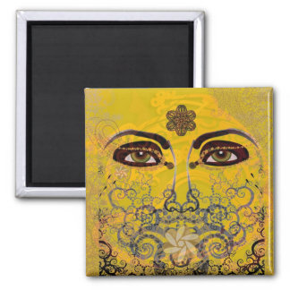 GOLD SOUL EYES MAGNET
