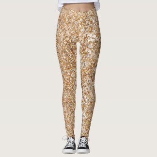 Gold Sparkle Leggings
