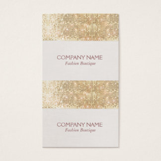 Gold Sparkly Sequin Mini Price, Gift or Hang Tags