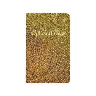Gold Spiral Pattern Journal