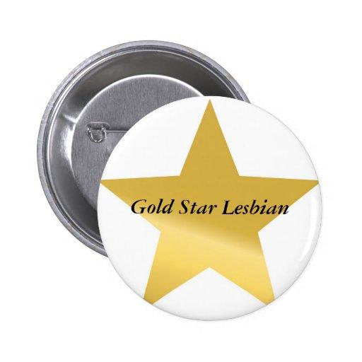 gold-star-2, Gold Star Lesbian Button
