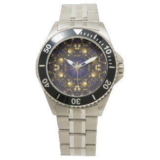 Gold Star Classic Stainless Steel Watch