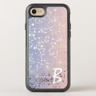 Gold Star Foil Sparkle Rose Quartz Serenity Blue OtterBox Symmetry iPhone 8/7 Case