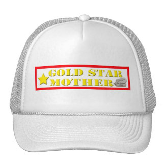 Gold Star Mother Hat - 1 Star