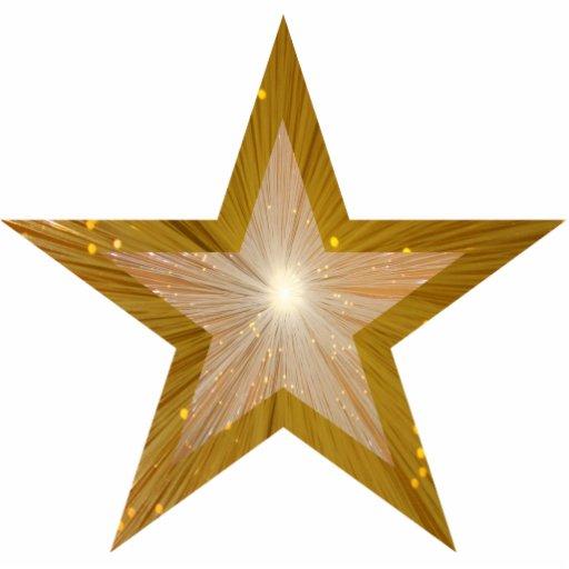Gold star two tone christmas ornament zazzle