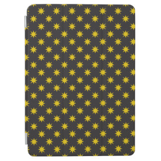 Gold Star with Black Background iPad Air Cover