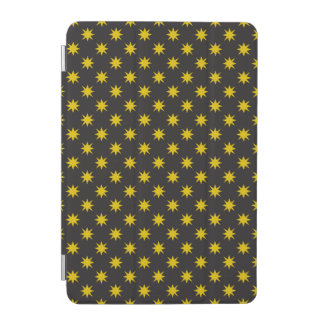 Gold Star with Black Background iPad Mini Cover
