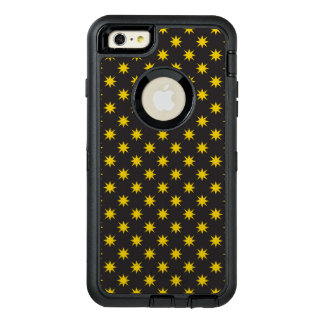 Gold Star with Black Background OtterBox iPhone 6/6s Plus Case