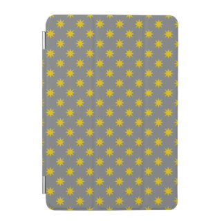 Gold Star with Grey Background iPad Mini Cover