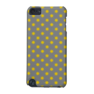 Gold Star with Grey Background iPod Touch (5th Generation) Cases