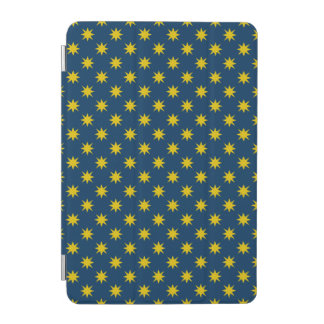 Gold Star with Navy Background iPad Mini Cover