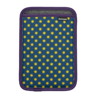 Gold Star with Navy Background iPad Mini Sleeve