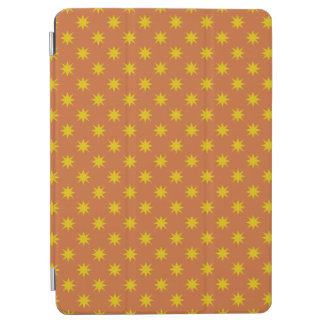 Gold Star with Orange Background iPad Air Cover