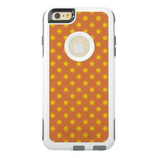Gold Star with Orange Background OtterBox iPhone 6/6s Plus Case