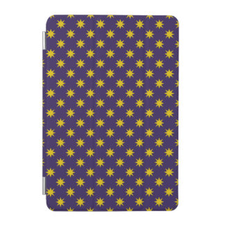 Gold Star with Royal Purple Background iPad Mini Cover