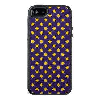 Gold Star with Royal Purple Background OtterBox iPhone 5/5s/SE Case