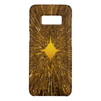 Gold starburst pattern Case-Mate samsung galaxy s8 case