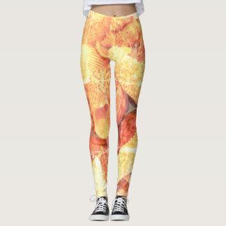 Gold Starfish - Leggings
