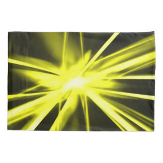 Gold Starlight Abstract Airbrush Art Pillowcase