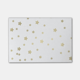 Gold Stars Post-it® Notes