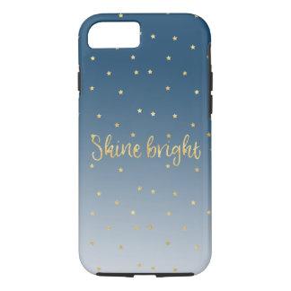 Gold Stars Sky Shine Bright iPhone 8/7 Case