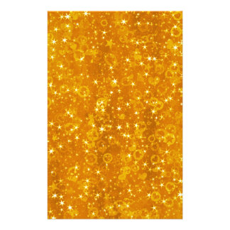 Gold Stars Stationery