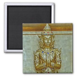 Gold Statue Magnet
