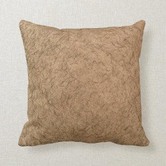 Gold stone pillow