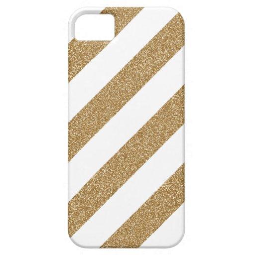 Gold Stripe Iphone 5 Case