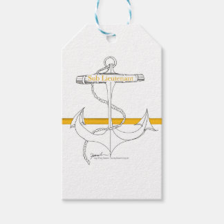 gold sub lieutenant, tony fernandes gift tags