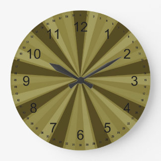 Gold Sunburst Clocks