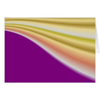 Gold swirl on purple background greeting cards