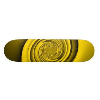 Gold Swirl Skate Boards