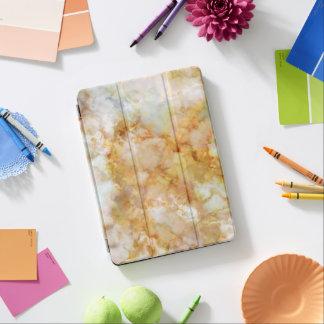 Gold Swirled Marble iPad Air Cover