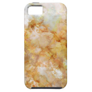 Gold Swirled Marble iPhone 5 Covers