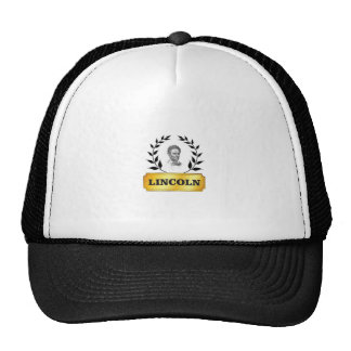 gold tag lincoln trucker hat