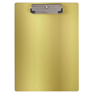 Gold Template Back Customize Clipboards
