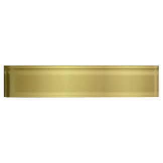 Gold Template Back Customize Name Plate