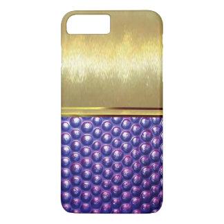 Gold Texture Design Slim Shell Case