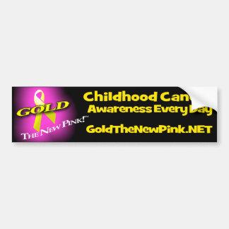 GOLD: The New Pink Bumper Sticker