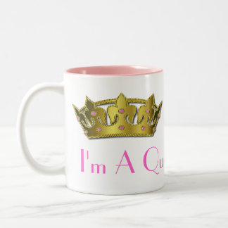 Gold Tone Crown Mug
