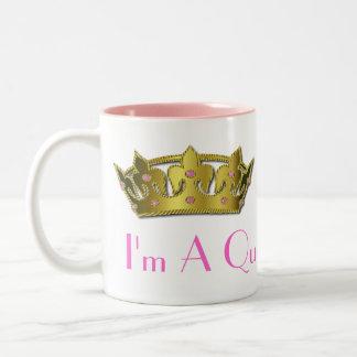 Gold Tone Crown Mug