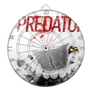 Gold Tooth Predator Dart Board