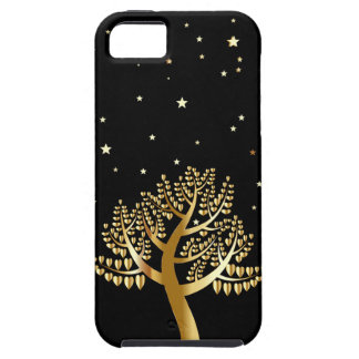 Gold Tree iPhone 5 Cover