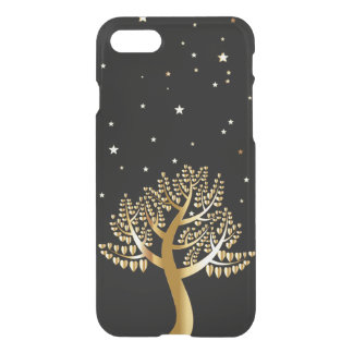 Gold tree iPhone 7 case