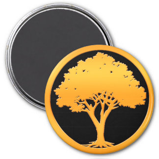 Gold Tree Magnet